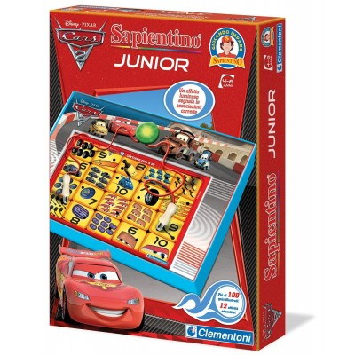 SAPIENTINO JUNIOR CARS 13601 CLEMENTONI