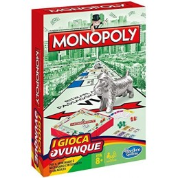 TRAVEL MONOPOLY B1002 HASBRO