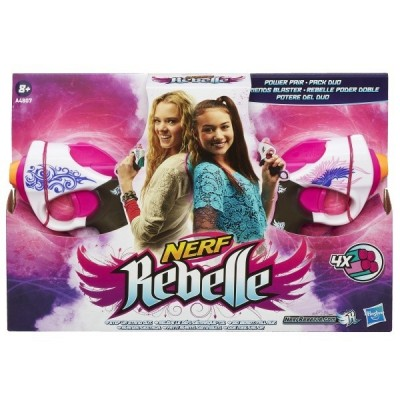 NERF REBELLE PINK PAIR A4807 HASBRO
