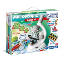 MICROSCOPIO SUPER KIT 13967 CLEMENTONI