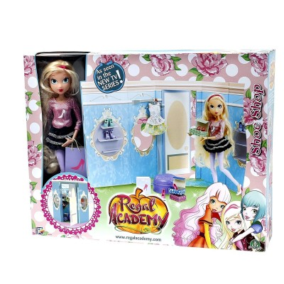 REGAL ACADEMY PLAYSET CON BAMBOLA E ACCESSORI REG040 GIG