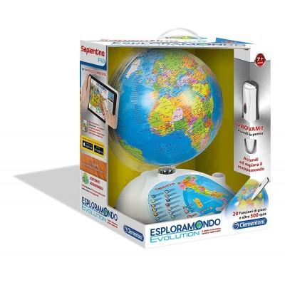 SAPIENTINO ESPLORAMONDO EVOLUTION 12450 CLEMENTONI