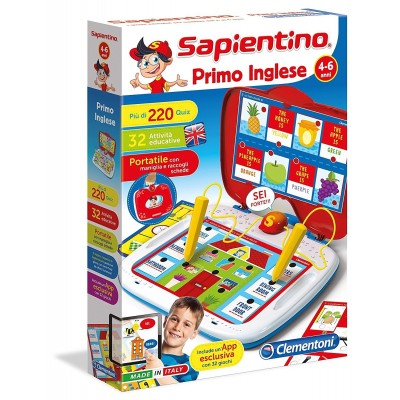 SAPIENTINO PRIMO INGLESE 11937 CLEMENTONI