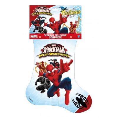 calza befana spiderman '17 34540