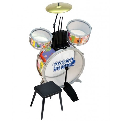 BATTERIA JAZZ METAL D4500 BONTEMPI