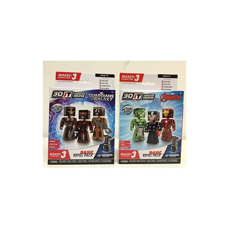 3D REFILL PERSONAGGI MARVEL 95168 GIOCHI PREZIOSI