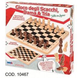 SCACCHI/DAMA/TRIA 10467