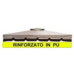 TELO RICAMBIO X GAZEBO 3X4 RINFORZATO BLT01 MSOGARI