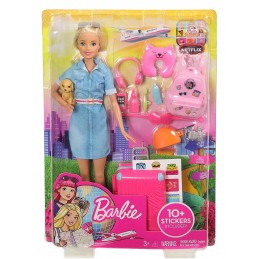 BARBIE TRAVEL FWV25 MATTEL