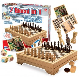 SCACCHI DAMA 7IN1 4841 RSTOYS
