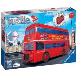 PUZZLE 3D LONDON BUS 12534 RAVENSBURGER
