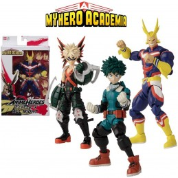 MY HERO ACADEMY PERSONAGGI ASSORTITI 17CM 04645 BANDAI