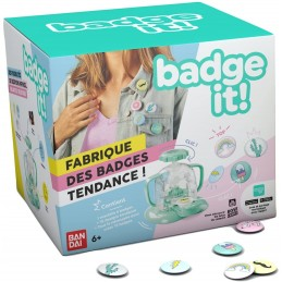 BADGE IT! FABBRICHE SPILLE 04651 BANDAI