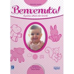 LIBRO PRIMO ALBUM BENVENUTA RAFFAELLO