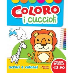 LIBRO COLORO I CUCCIOLI RAFFAELLO
