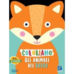 LIBRO COLORIAMO ANIMALI BOSCO RAFFAELLO