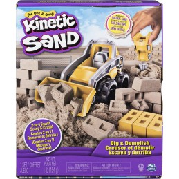 KINETIC SAND CANTIERE VEICOLO 44178 SPINMASTER