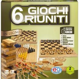 6 GIOCHI RIUNITI LEGNO...